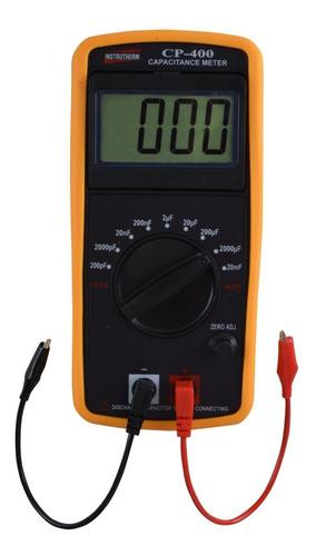 capacímetro digital - mede todos capacitores