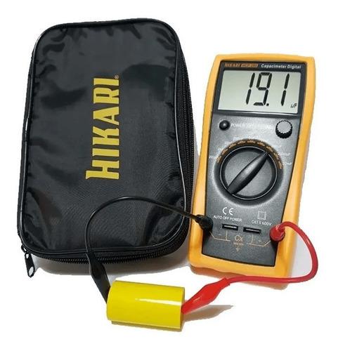 capacimetro digital profissional hikari hcp 200
