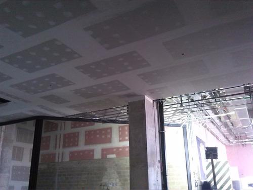 capacitacion asesoria drywall falso cielo raso, coberturas