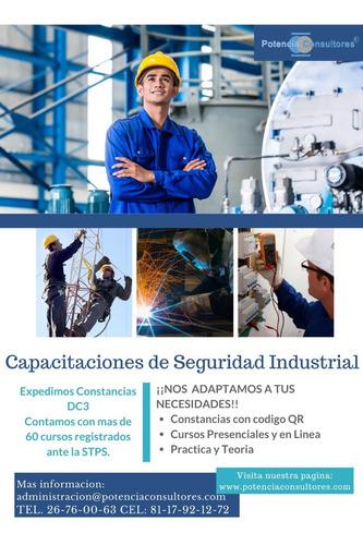 capacitacion de seguridad industrial