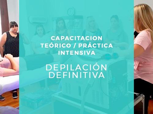 capacitación teórico práctico depilación definitiva