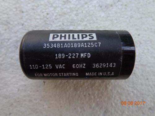 capacitador de arranque 189-227 uf 110 v  foto real  neveras