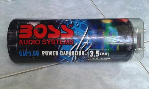 capacitador de sonido boss