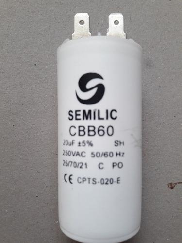 capacitador para bombas semilic 20uf