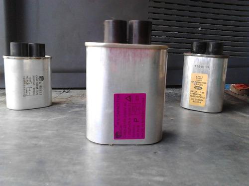 capacitadores de microondas