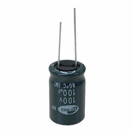 capacitor 100 x 100 - bipolar pcte 10 un
