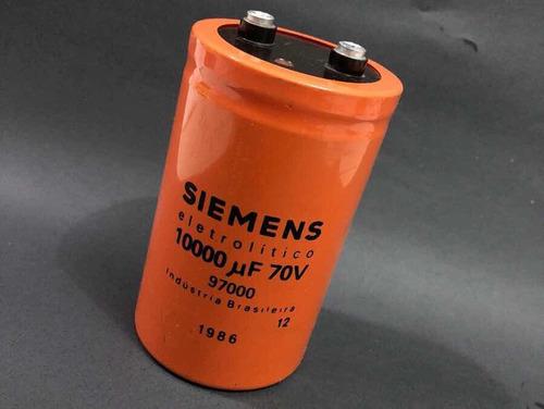 capacitor 10000uf 70v kit c/20pcs  p/ fonte, potencia de som