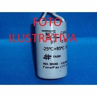 capacitor 10uf/250v para motor de portão automático