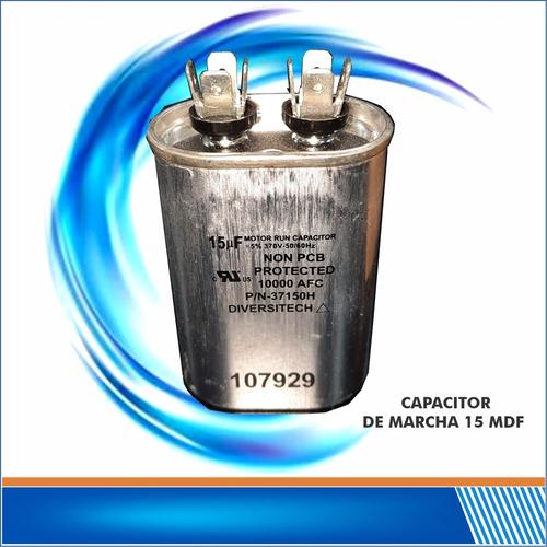 capacitor 15 mfd 370/440 vac