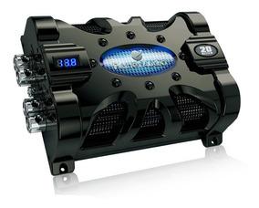 Planet Audio PCBLK35 Planet 3.5 Farad Capacitor Digital Volt Meter Black