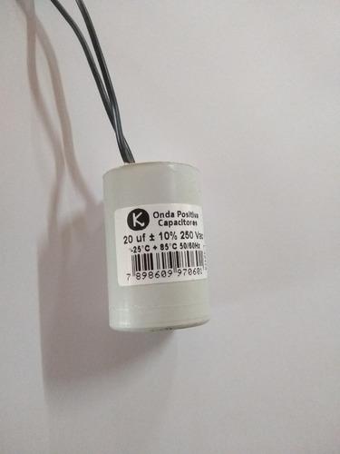 capacitor 20 uf 250