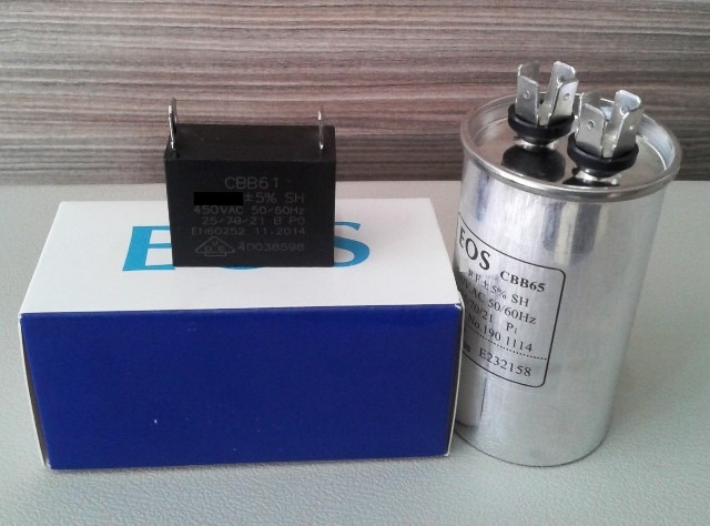Capacitor 25uf 1 5uf P Compressor E Ventilador Split