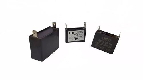 capacitor 3 uf x 450 v - ventilador condensadora ar split