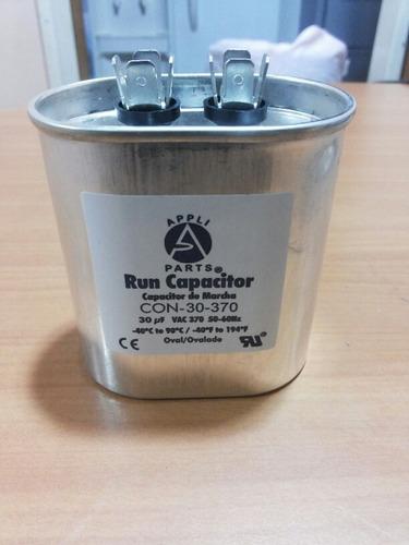 capacitor 30 mfd 370 vac condensador