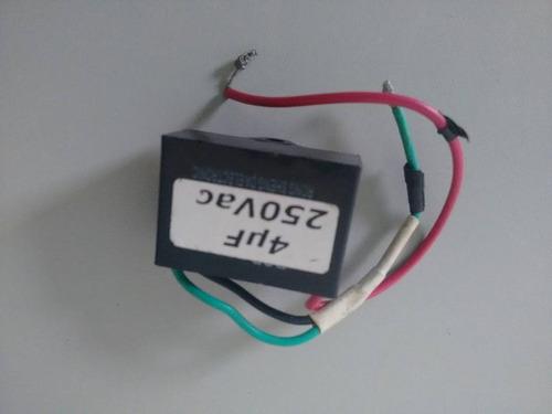 capacitor 4uf 250v - ventilador de mesa