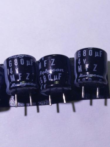 capacitor 4v 680uf paquete 10 unidades.