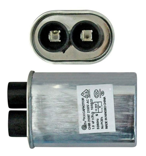 capacitor alta microondas 1.00uf 1.00mf 2100v repuesto horno