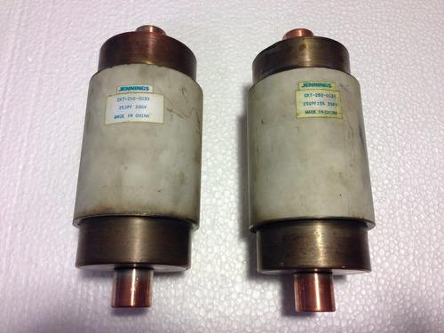 capacitor alto voltaje jennings 30kv 250 pf tesla hv
