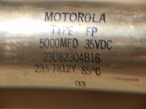 capacitor blindado motorola 5000mf 35v usa zona caballito