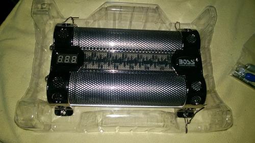 capacitor boss - 8f faradios