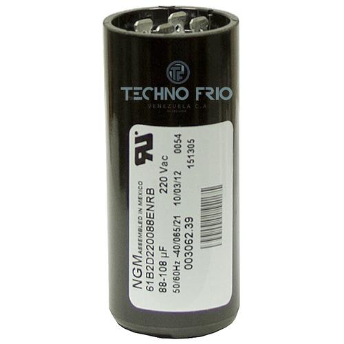 capacitor capacitador de arranque 189-227 mfd 220v