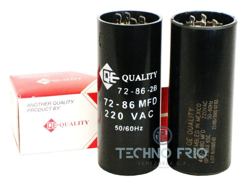 capacitor capacitador de arranque 270-324 mfd 110v