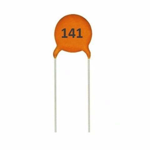 capacitor condensador ceramico 140pf picos arduino pic