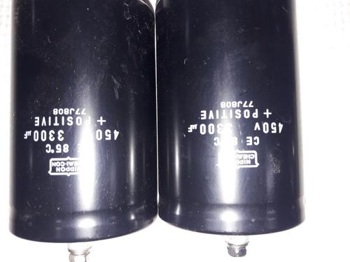 capacitor condensador electrolitico 3300 uf x 450 volts