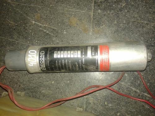 capacitor corrección factor potencia 10kva y 3kva