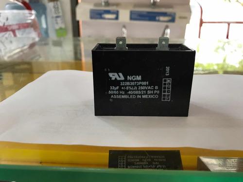 capacitor cuadrado 32mf 250 vaca