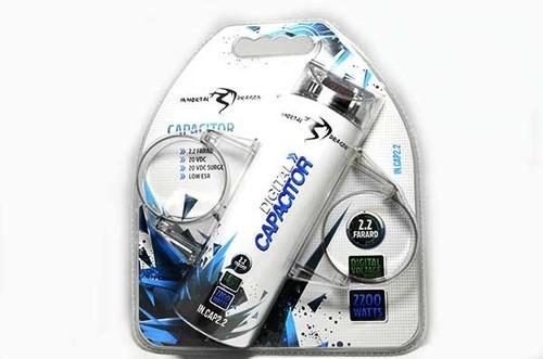 capacitor de 2.2 faradios inmortal incap2.2 2200 watts