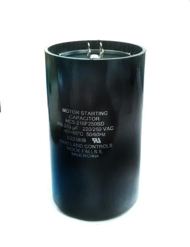 capacitor de arranque 216-259mfd 220v cnr-4230
