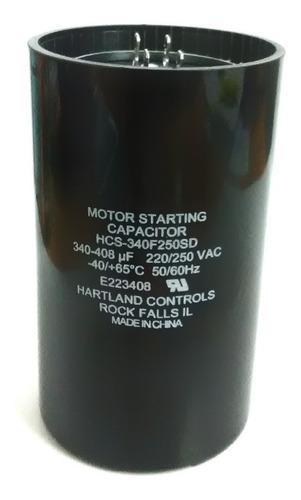 capacitor de arranque 340-408mfd 220v cnr-13620