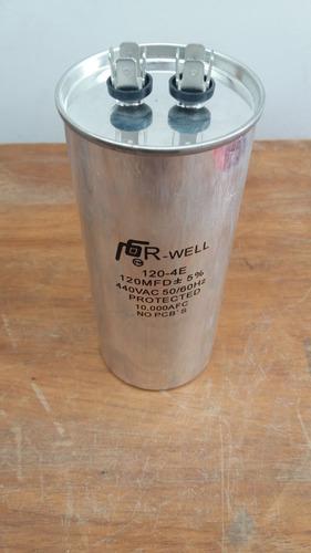 capacitor de arranque 440v a 120, 100 y 80 mfd