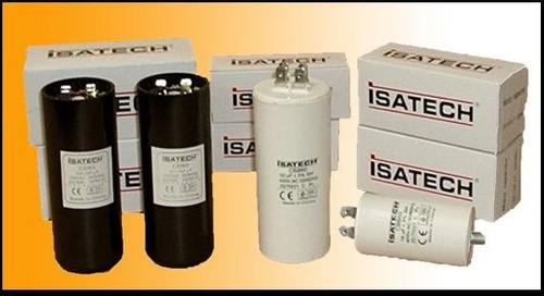 capacitor de marcha 45uf microfaradios 400v 50/60hz isatech