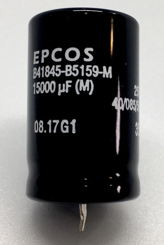capacitor eletrolitico 15.000uf x 25v * 15000uf * 15.000 uf