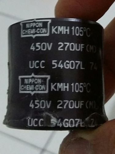 capacitor eletrolítico 270uf x 450v