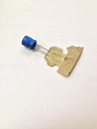 capacitor eletrolítico 47 uf x 25v 85º