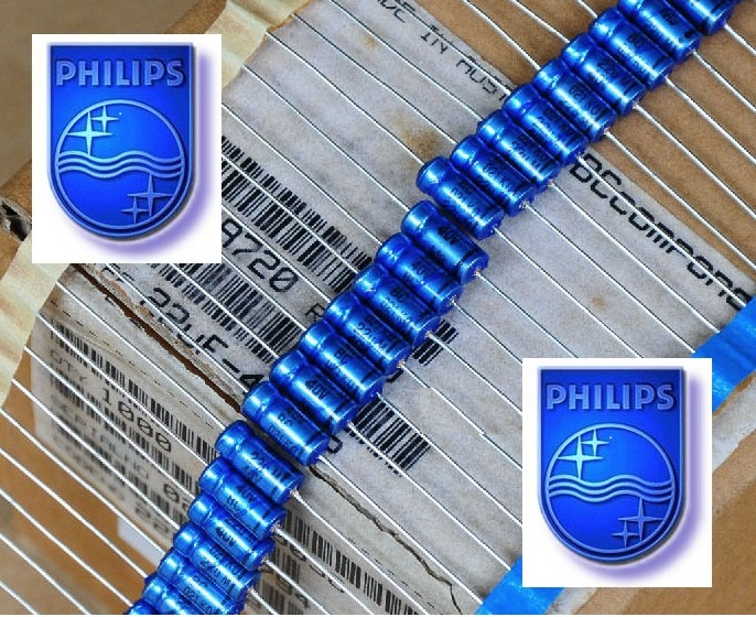 Capacitor Eletrolitico Axial Philips 22uf X 40v R 2 99