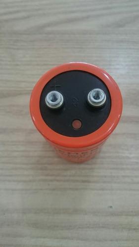 capacitor giga 22000uf x 16v usado - kit c/ 05pçs