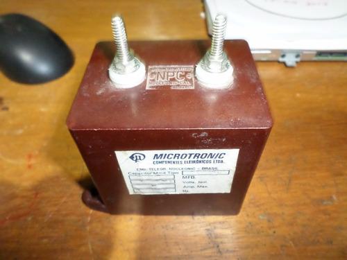 capacitor mica torre npc marrom 1000k