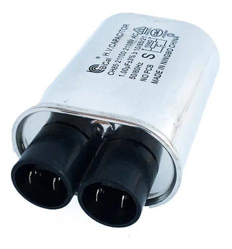 capacitor micro ondas 0,95uf 2100v alta tensão - novo + n.f.