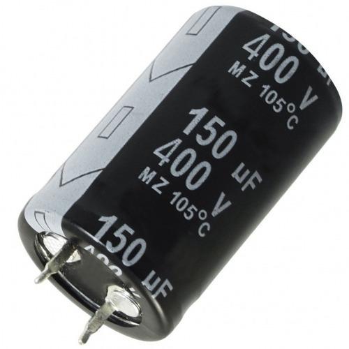 capacitor o condensador 150 uf/ 400v (oferta 2x1)