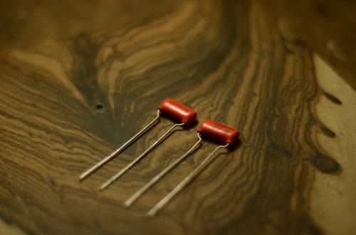 capacitor orange drop