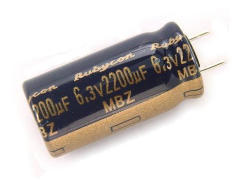 capacitor para mothers 4700uf x 6.3v 105º originales