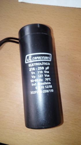capacitor para nevera e216 - 259 uf y rele arranque rp 7518