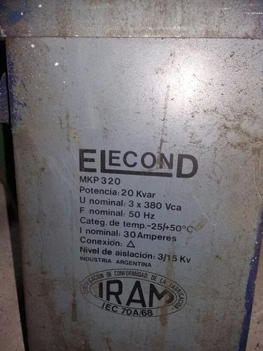 capacitor  para soldadora 25 kva
