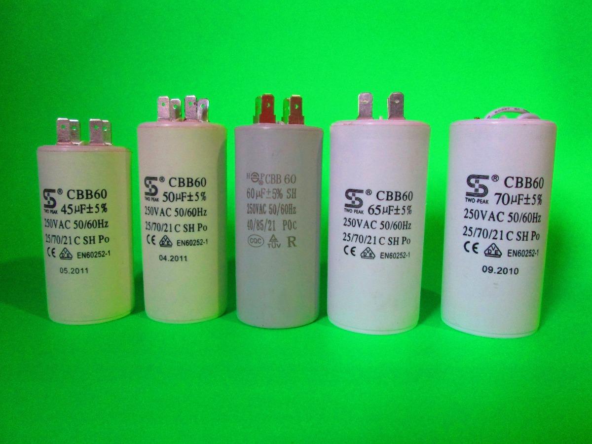 Capacitor Plastico Trabajo Continuo 70 Mfd Uf 250v