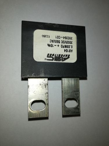 capacitór poliester 0.33mf x 550vac 550 v