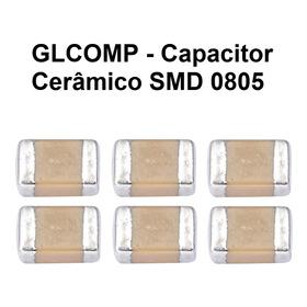 Capacitor Smd 0805 50v Kit C/ 416 Peças 52 Valores - Carta